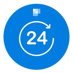 24 Hours Blue Background copy